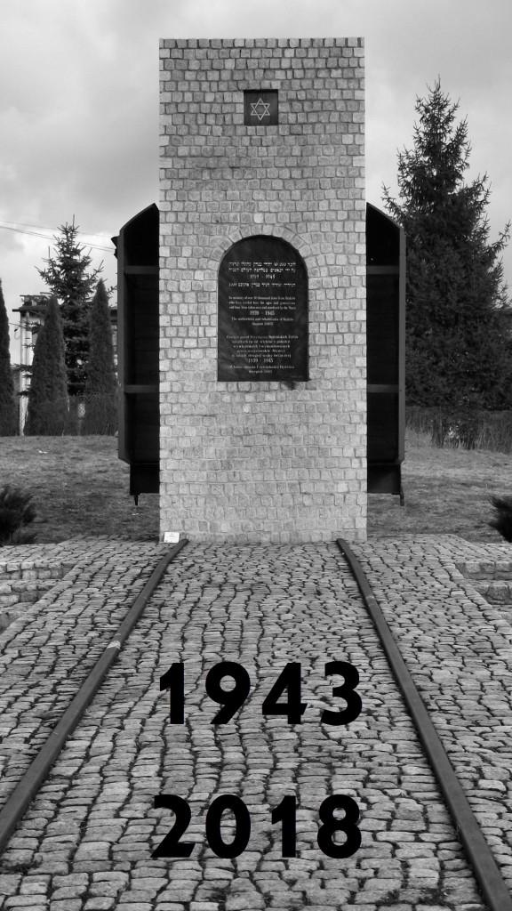 bedzin-gett-pomnik+napis