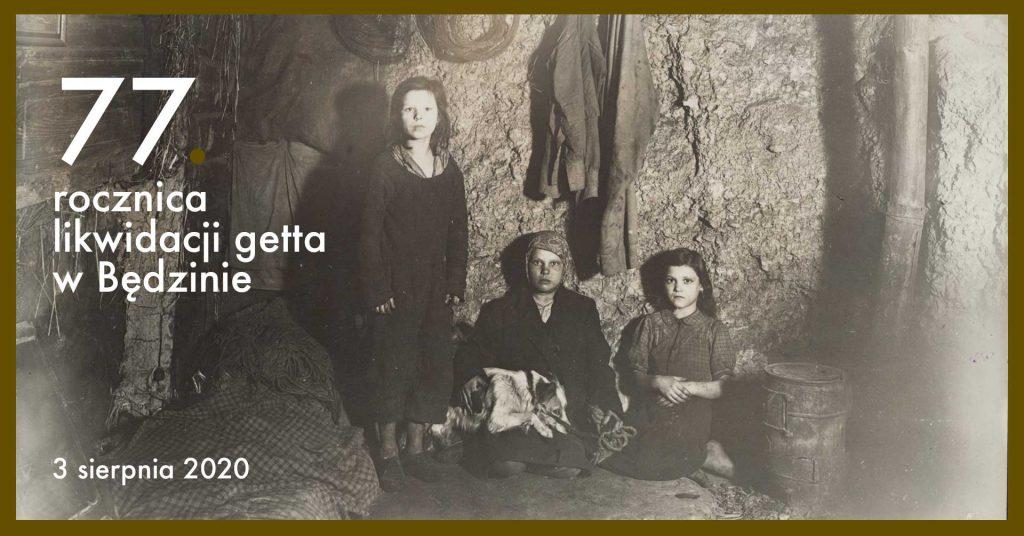 77. rocznica likwidacji getta w Będzinie