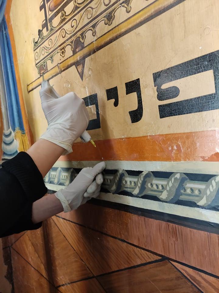 Renowacja polichromii